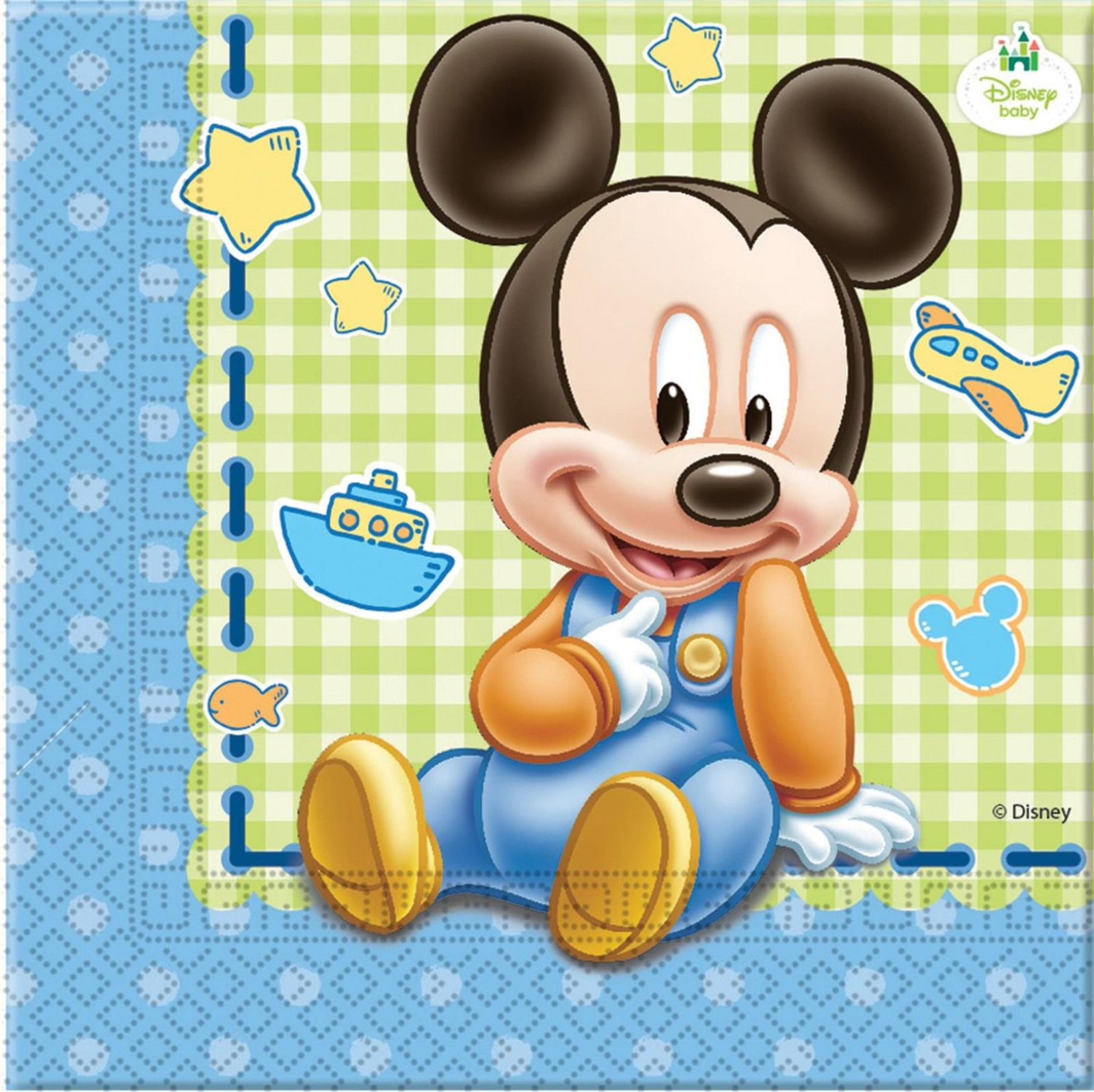 Disney Baby Mickey Mouse Servietten