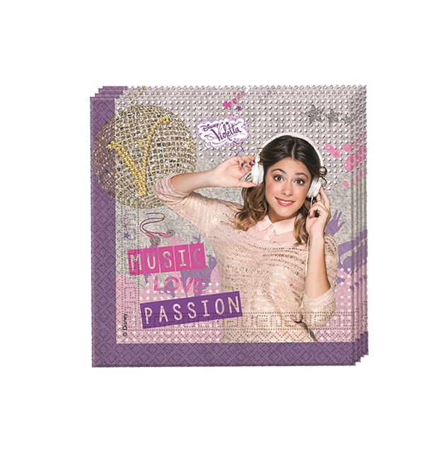 Disney Violetta Party Servietten