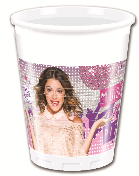 Disney Violetta Party Becher