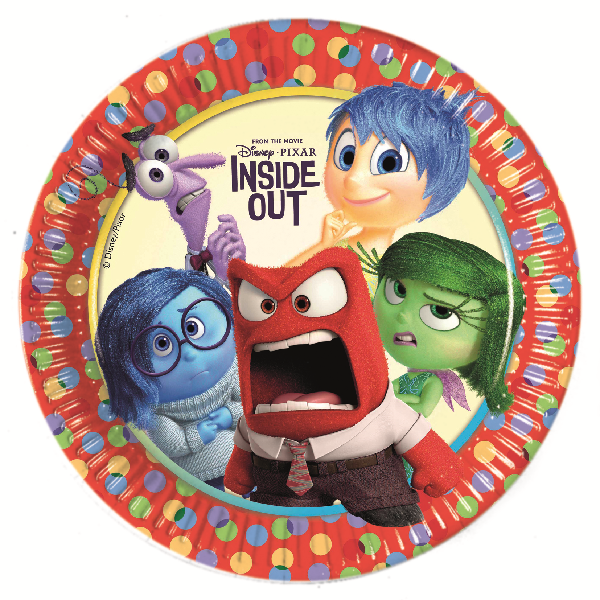 Disney Alles steht Kopf - Inside Out Party Teller