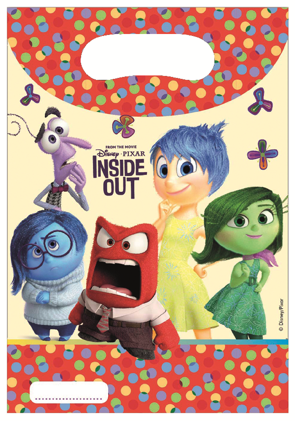 Disney Alles steht Kopf - Inside Out Party Tüten