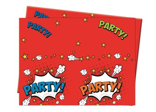 Boom Party ... Party Tischdecke