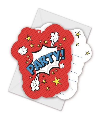 Boom Party ... Party Einladungen