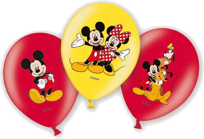 Party Luftballons Mickey ist fröhlich