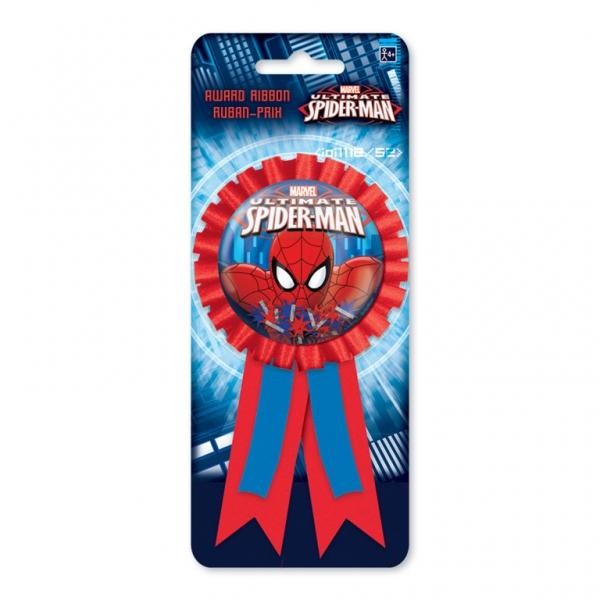 Spiderman Siegerschleife / Orden für das Geburtstagskind