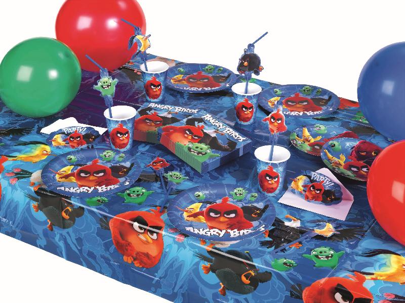 Angry Birds Party Teller zum Kinofilm