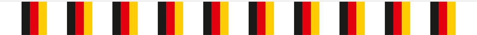 Deutschland Fahnenkette Flaggen Banner
