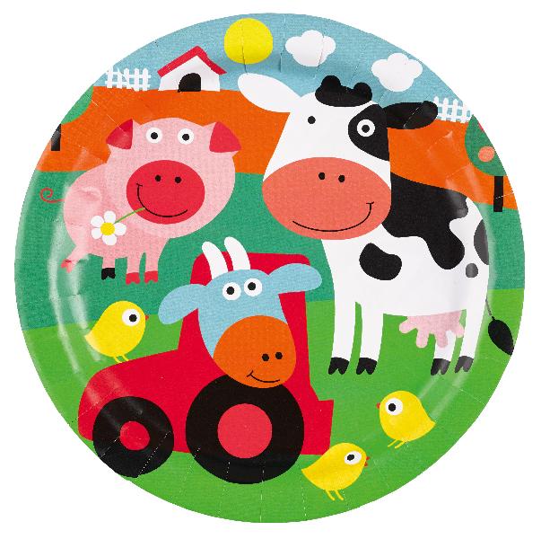 Party Teller Der kleine Bauernhof / Farm Fun