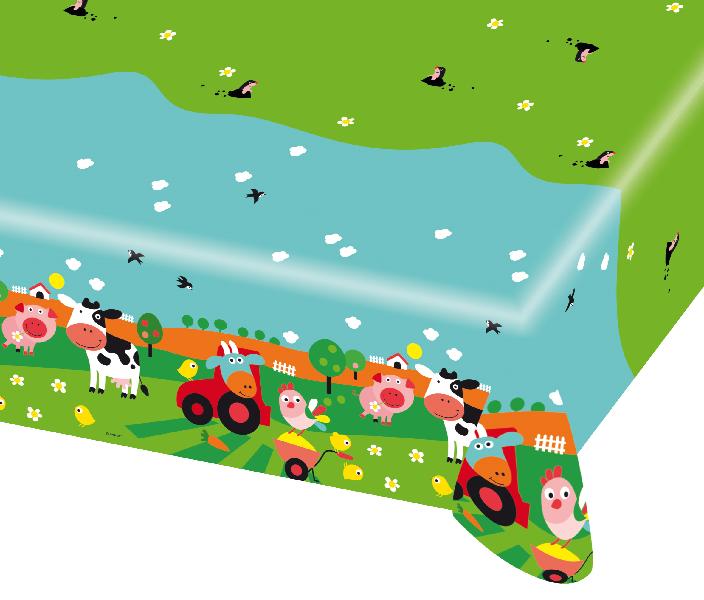 Party Tischdecke Der kleine Bauernhof / Farm Fun