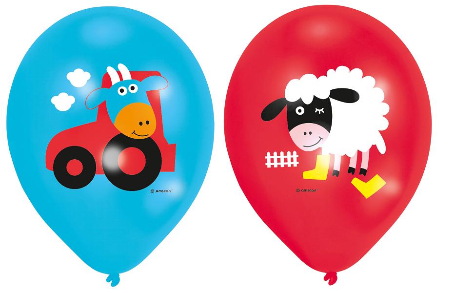 Der kleine Bauernhof Farm Fun Party Luftballons