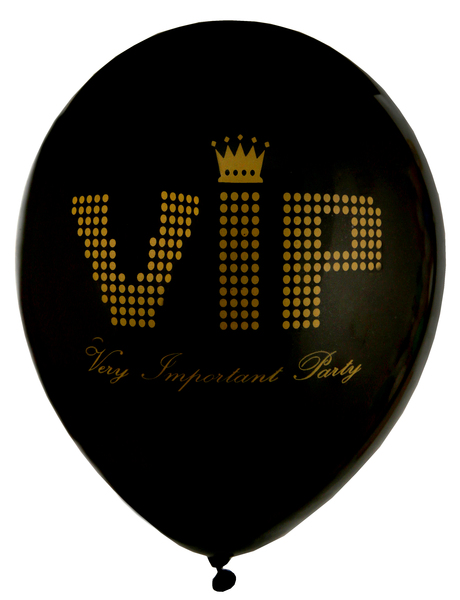 Party Luftballons Very Importent Persons VIP
