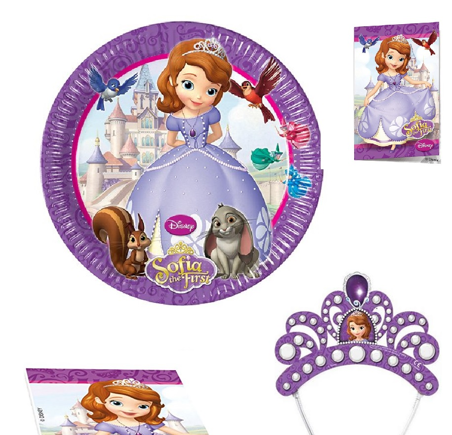 Disney Sofia the First Party Einladungen