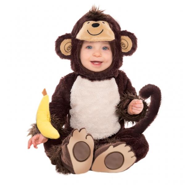 Ihr Baby als Mr. Miss Little Monkey Kostüm für Babys 12 - 18 Mon.