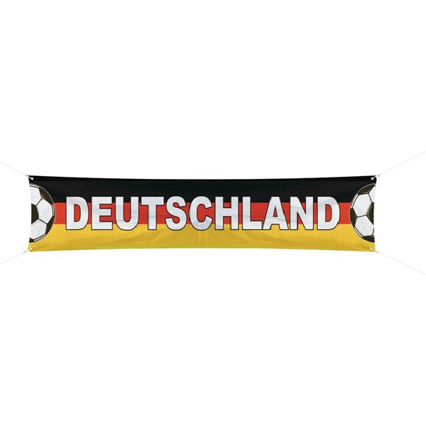 Straßenbanner Deutschland Fußball Fan Artikel