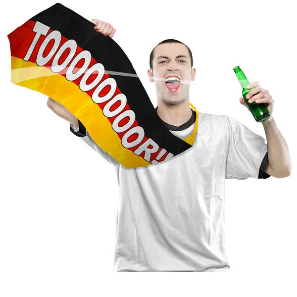 Fußball riesen Krawatte.... Deutschland vor Fan Artikel