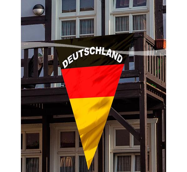 Wimpel Fahne Deutschland 1,50 x 90 cm