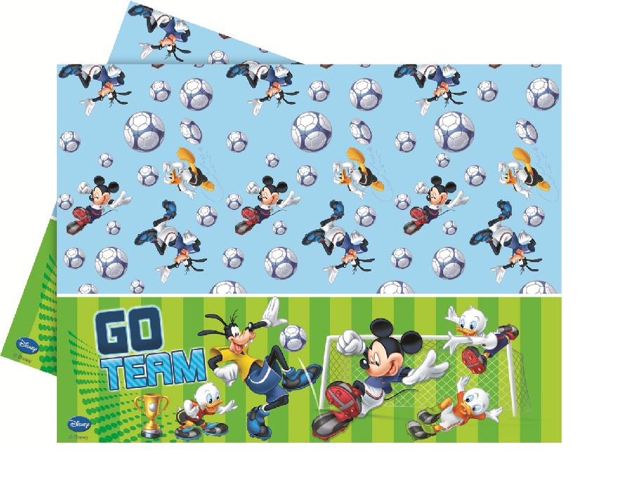 Disney Mickey Mouse Goal Fußball Party Tischdecken