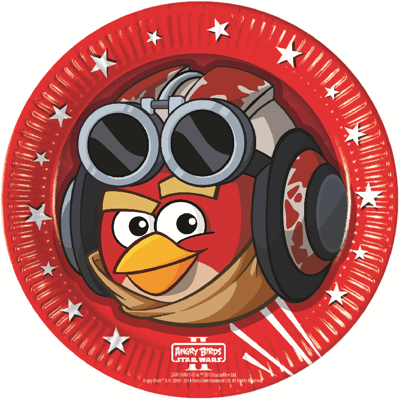 Star Wars / Angry Birds Party Teller