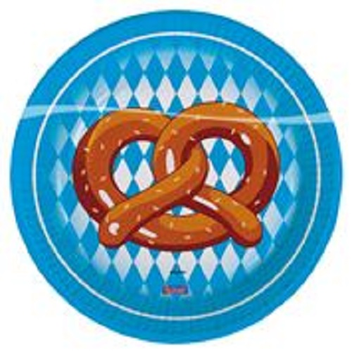 Oktoberfest Party Teller 18 cm von Folat