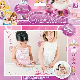 """Princess Glamour Disney """"Dekoriere deine Krone"""" Partyspiel"""