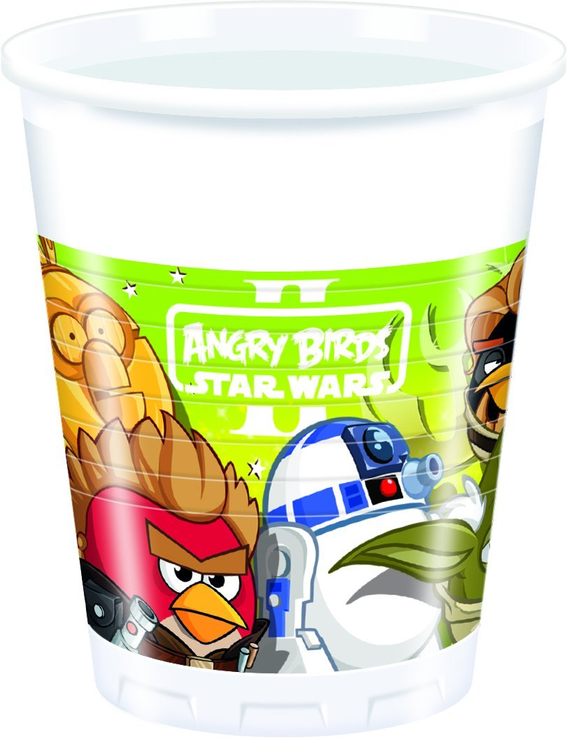 Star Wars / Angry Birds Party Becher