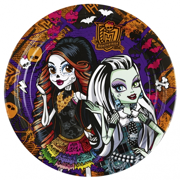 Monster High Cemetery Party Teller