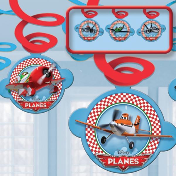 Disney Planes Swirl Girlanden