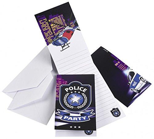 Polizei ... Police ... Polizei Party Einladungen