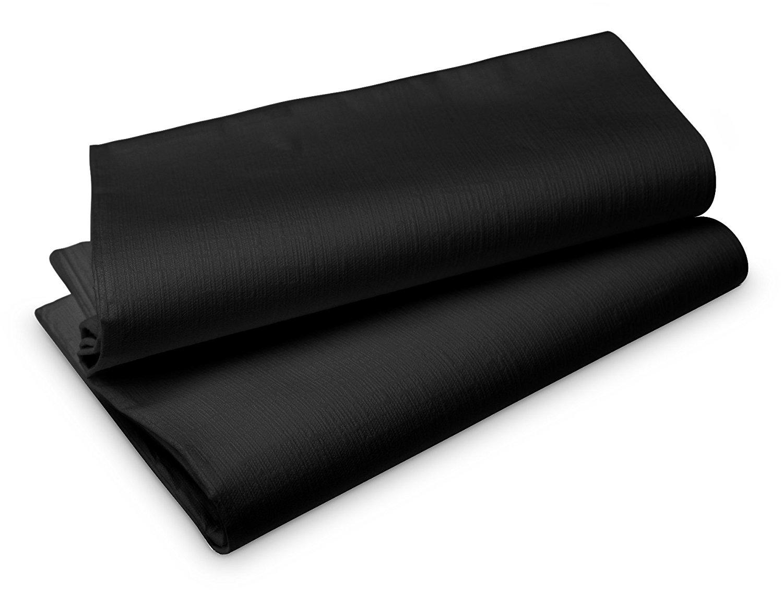 Duni Tischtuch Evolin 1,27 x 1,27 m schwarz