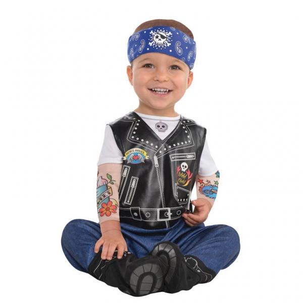 Kostüm Verkleidung Accessoires Baby Biker  12 - 24 Monate