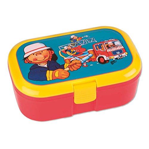 Brotzeitbox Lunchbox Feuerwehr von Lutz Mauder