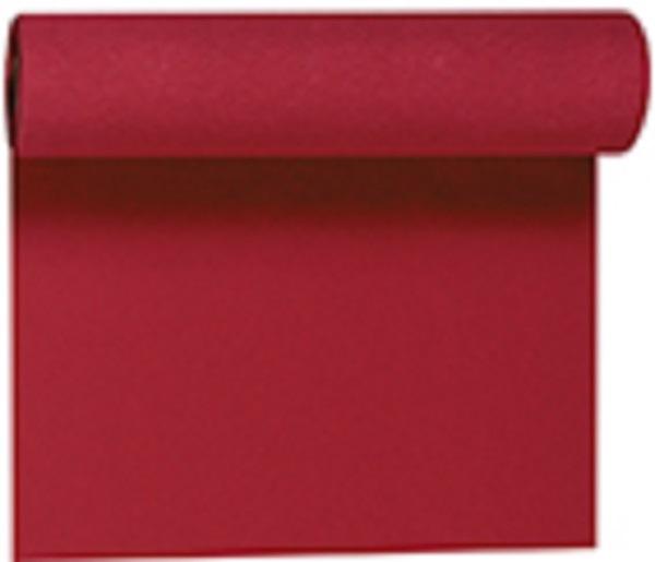 Duni Tischläufer Tete-a-Tete bordeaux 0,40 x 24,00 m