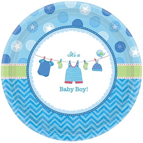 Baby Party Teller ... es wird ein Junge