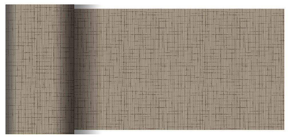 Duni Tischbänder Linnea greige 0,15 x 20,00 m