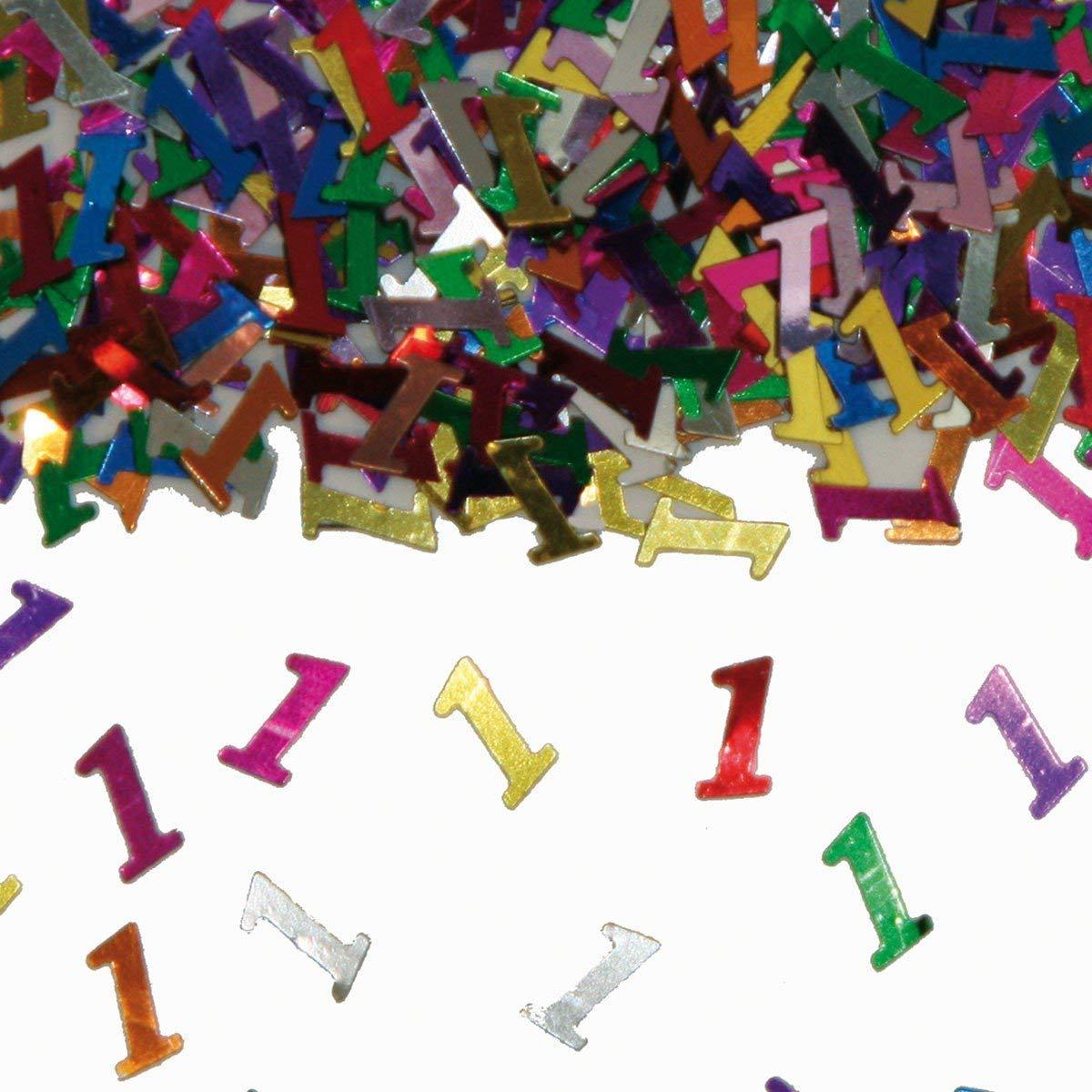 Party Konfetti Streudekoration zum 1sten Geburtstag
