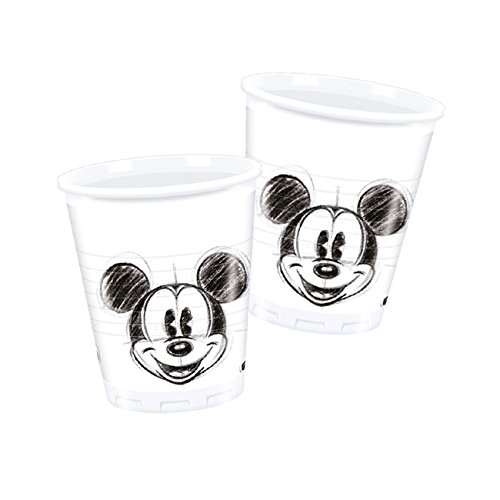 Disney Mickey Mouse 25 Face Party Becher
