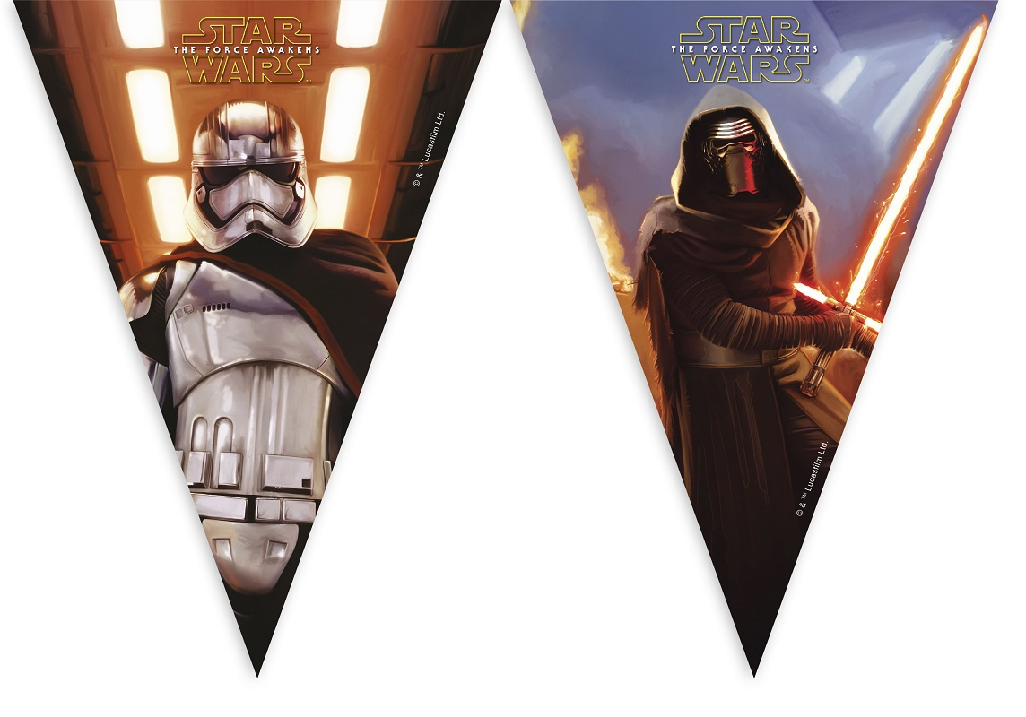 STAR WARS FORCE AWAKENESS Party Banner