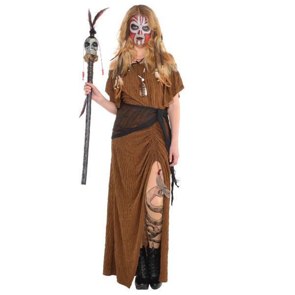 "Damen Kostüm ""Die Hexendoktorin / Witch Doktor"" Gr.: 40 - 42 L"