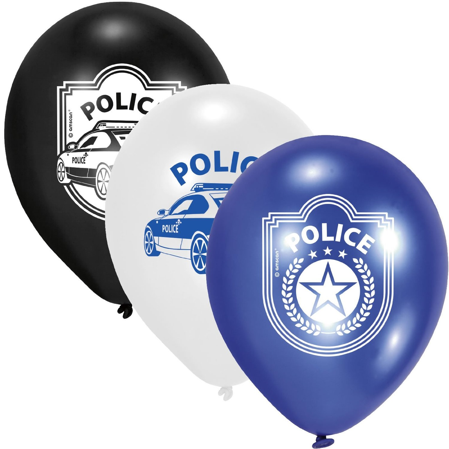Polizei ... Police ... Polizei Party Luftballons