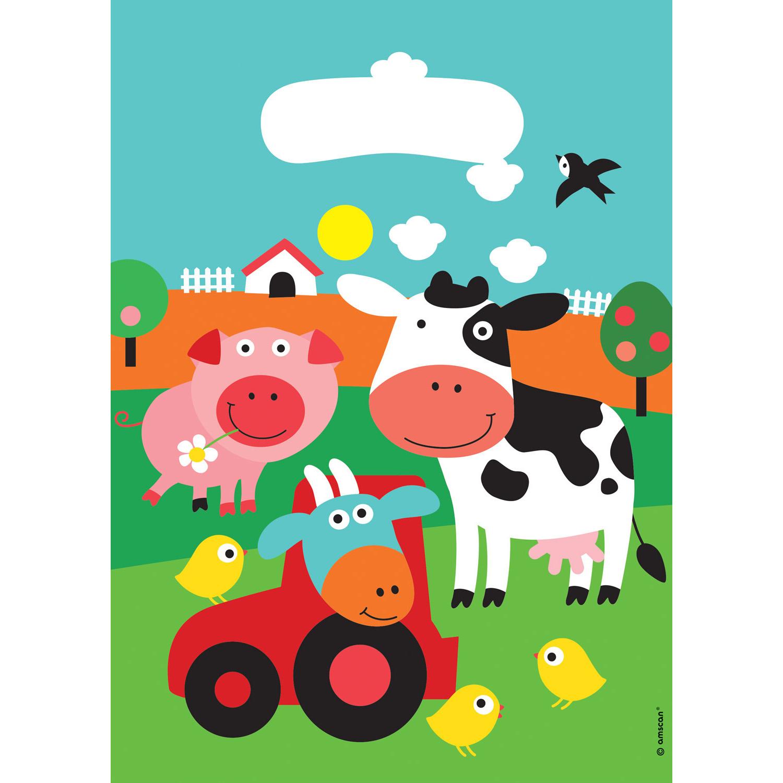 Party Tüten Der kleine Bauernhof / Farm Fun
