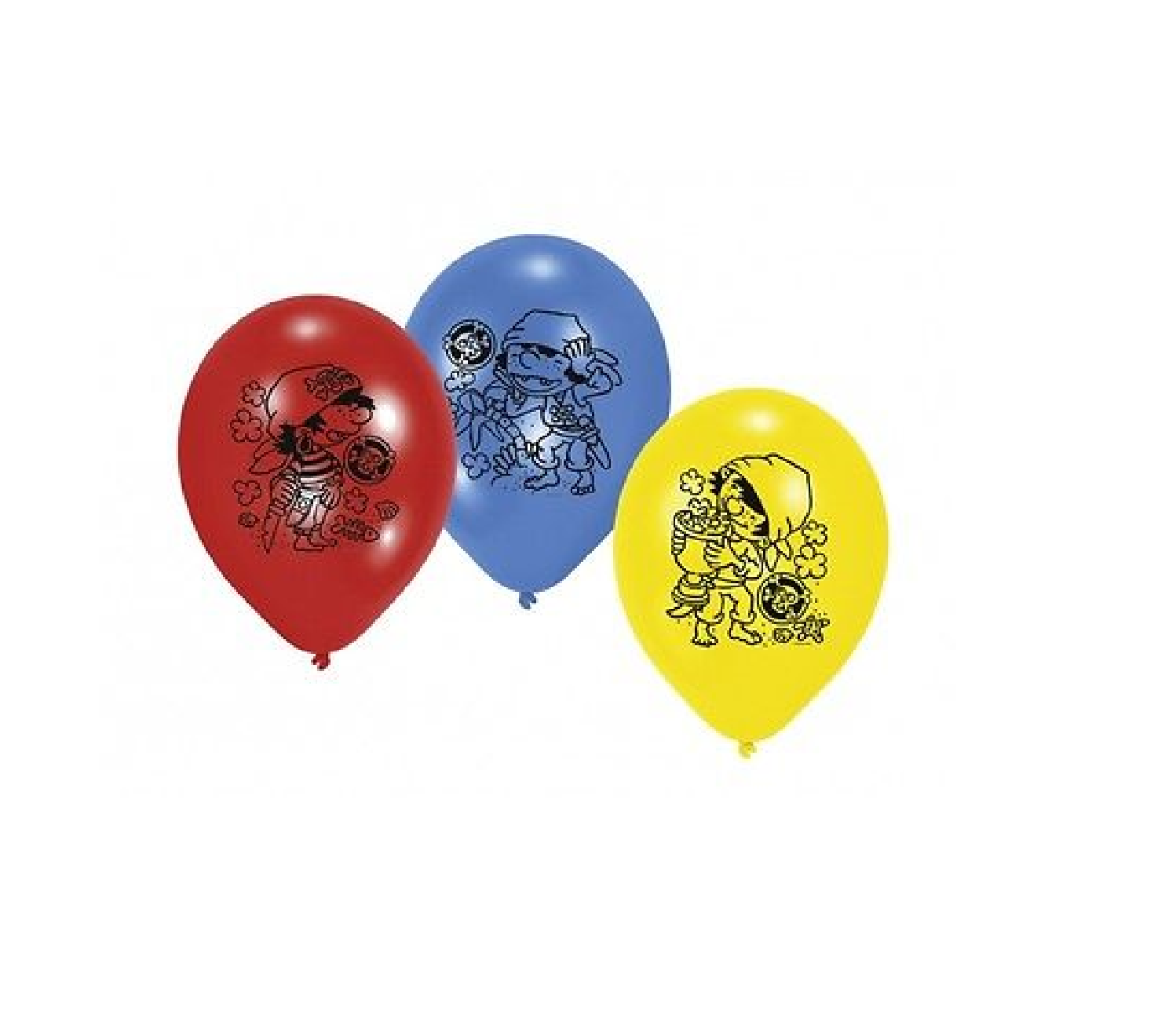 "Der kleine Pirat ""Piraaates"" Party Luftballons"