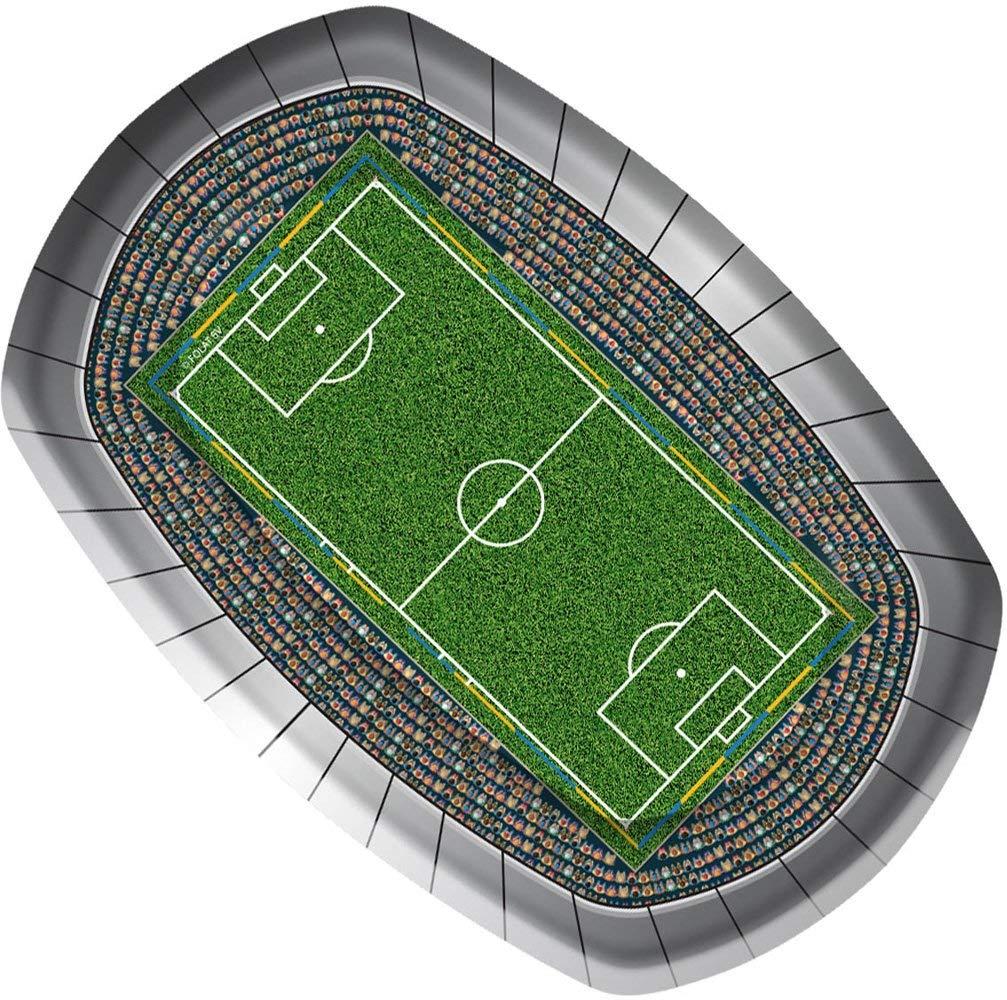 """Fußball """"Das Spielfeld! Party Teller"""