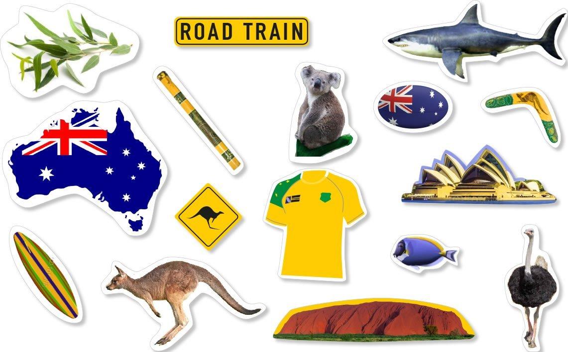 Australien Konfetti