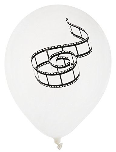 Party Luftballons Hollywood oder Film 8 Stück