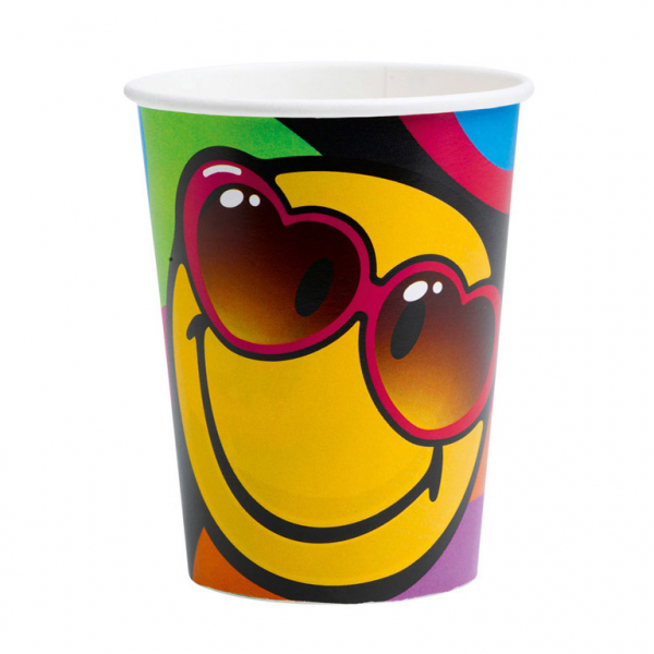 Smiley Express Yourself Party Becher