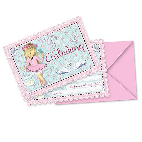 Party Einladungskarten Prima Ballerina Tapir Ella von Lutz Mauder