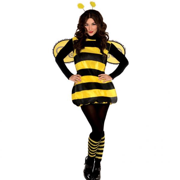 Das fleißige Bienchen Bienen Damen Kostüm 38 - 40 M - L