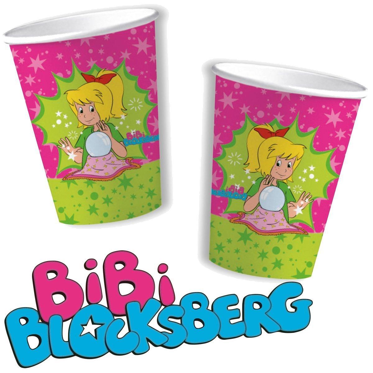 Bibi Blocksberg Party Becher