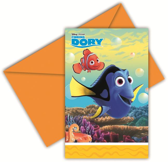 Disney Party Einladungen Findet Dorie