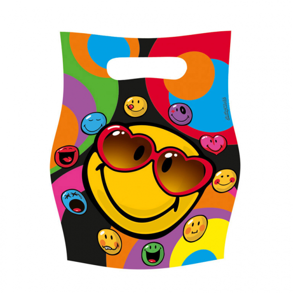 Smiley Express Yourself Party Tüten